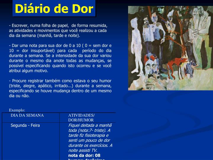 Diário de Dor