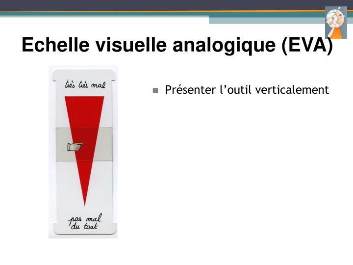 Echelle visuelle analogique (EVA)