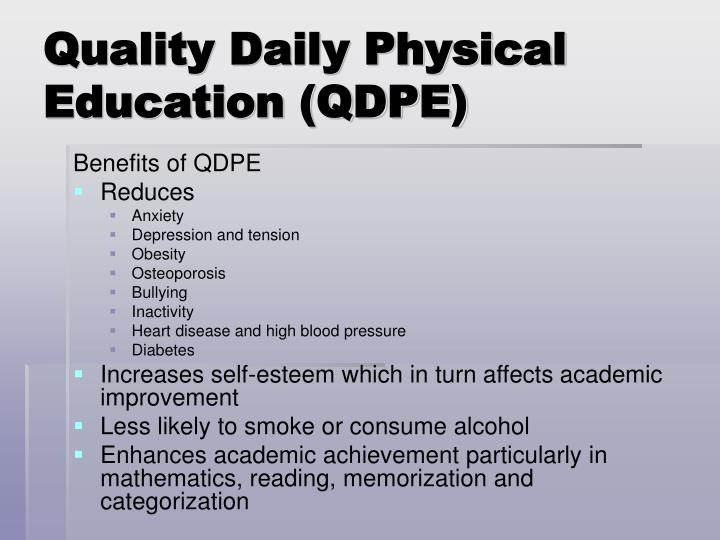 Quality Daily Physical Education (QDPE)