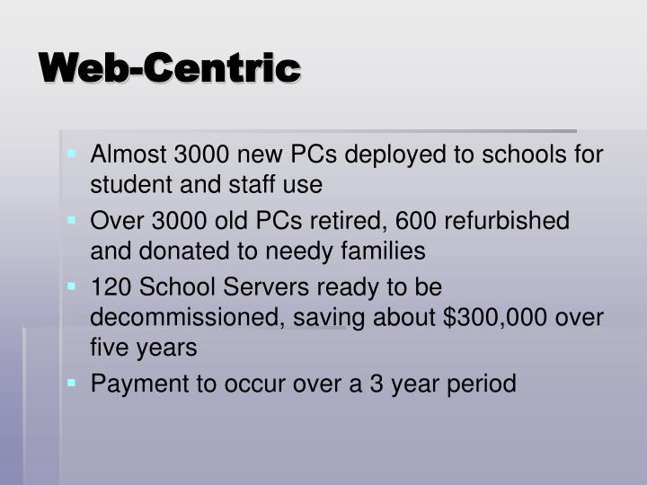 Web-Centric