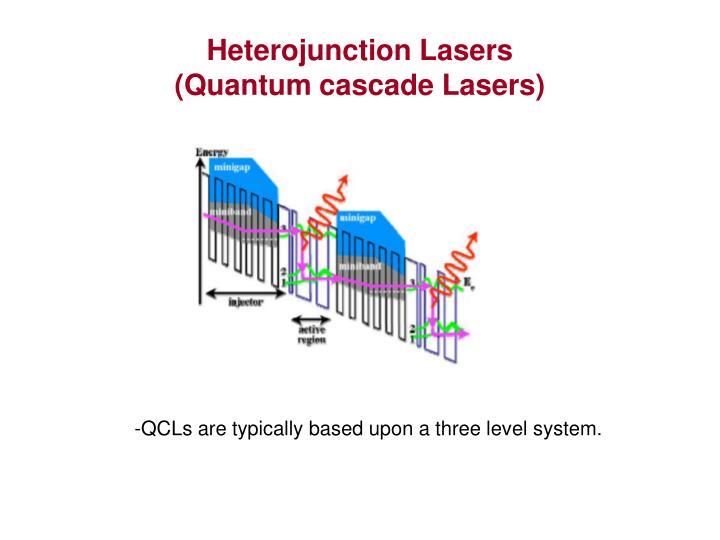 Heterojunction Lasers