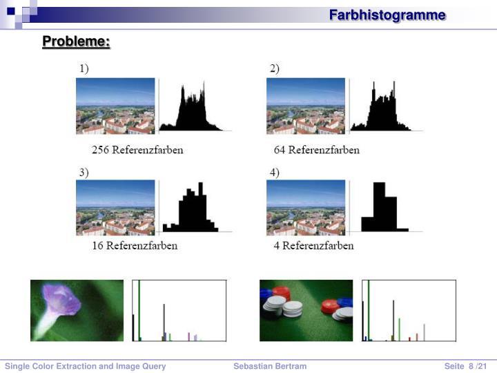 Farbhistogramme