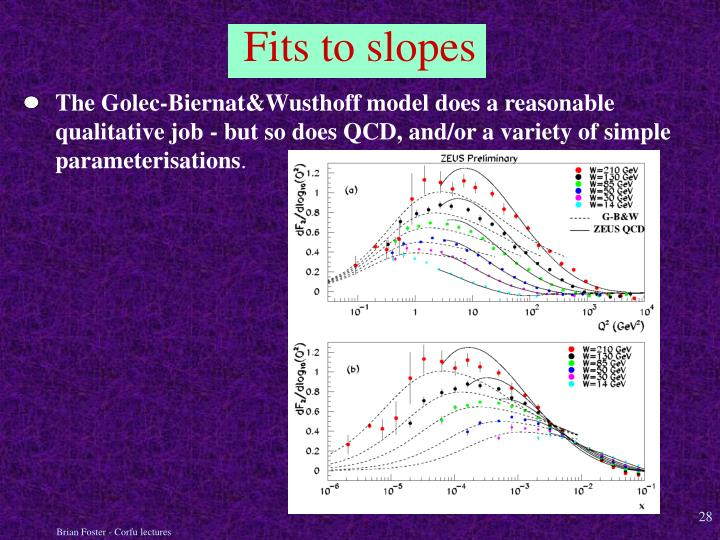 The Golec-Biernat&Wusthoff model does a reasonable