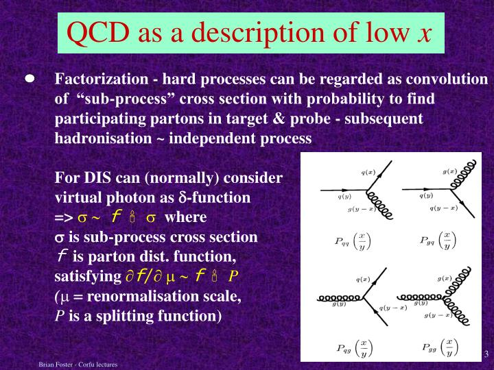 Qcd as a description of low x