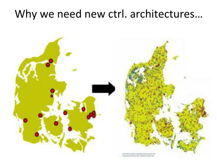 Why we need new ctrl. architectures…