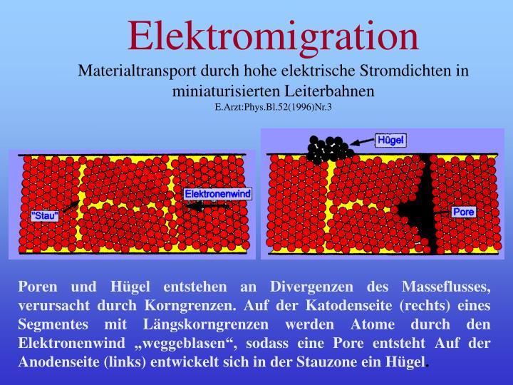 Elektromigration