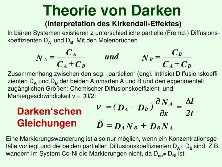 Theorie von Darken