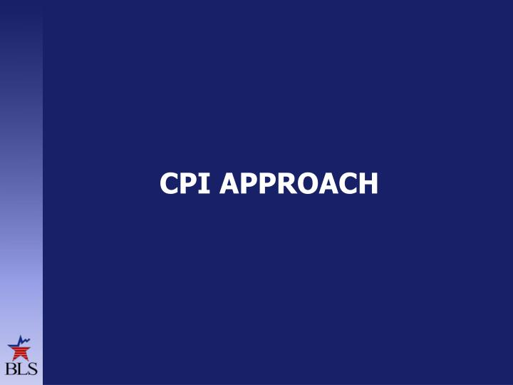 CPI approach
