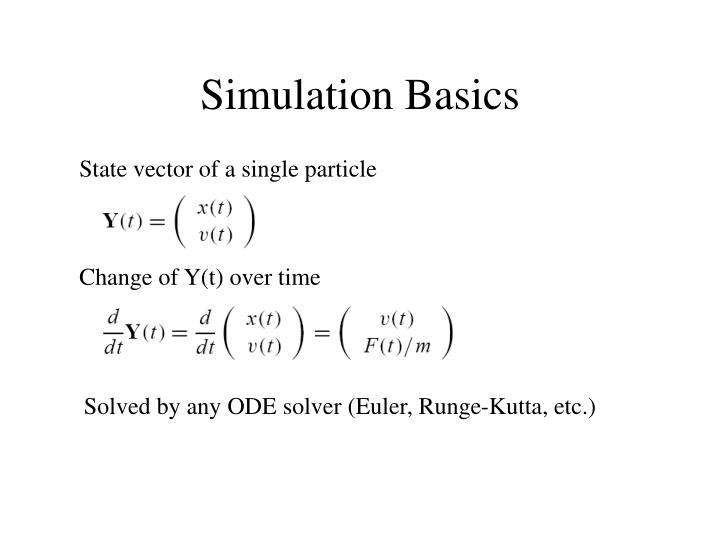 Simulation Basics