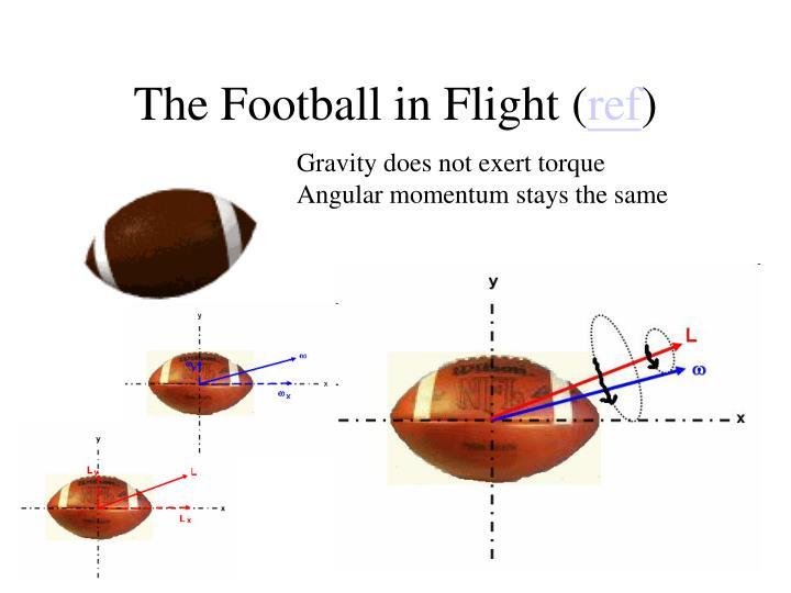 The Football in Flight (