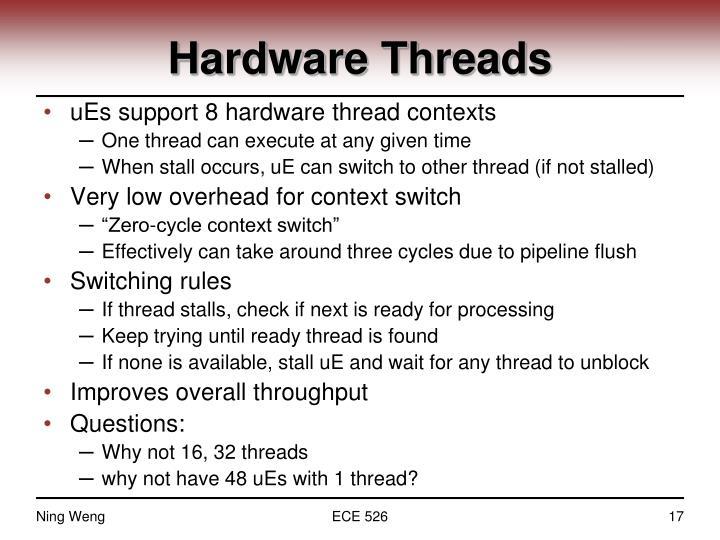 Hardware Threads