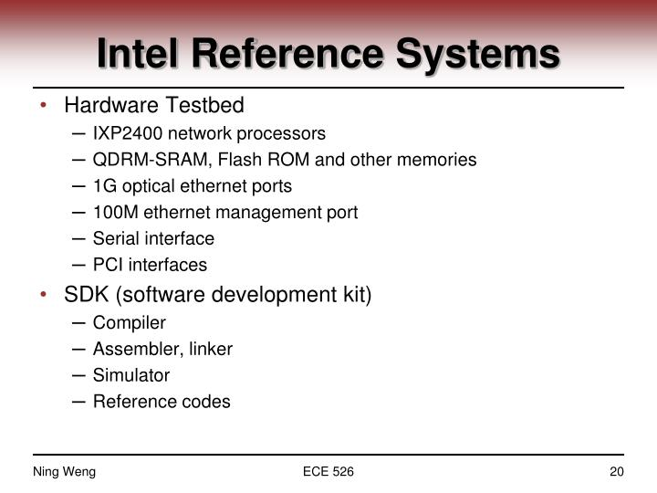 Intel Reference Systems