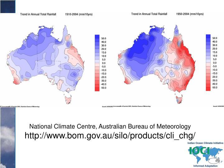 National Climate Centre, Australian Bureau of Meteorology