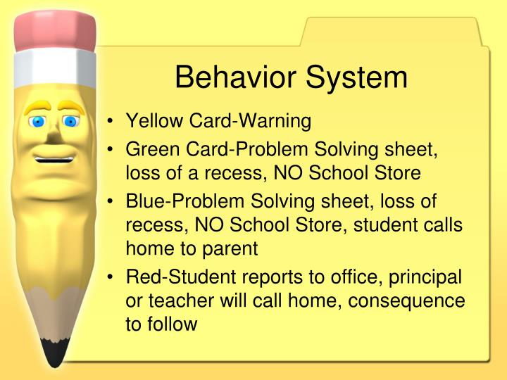 Behavior System