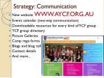 strategy communication