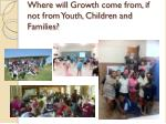 where will growth come from if not from youth children and families
