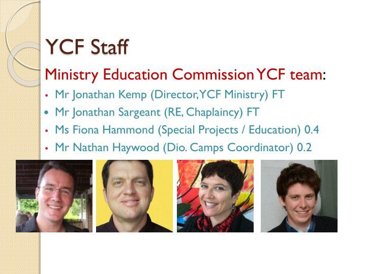 YCF Staff