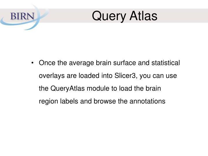Query Atlas