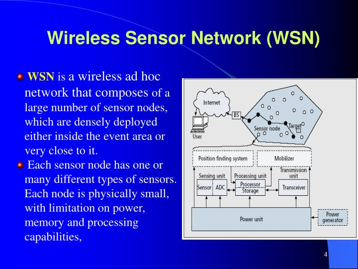 Wireless Sensor Network (WSN)