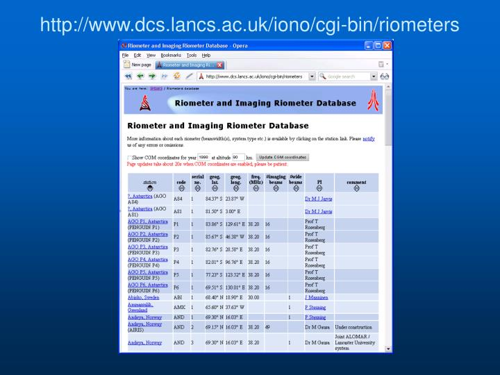 http://www.dcs.lancs.ac.uk/iono/cgi-bin/riometers