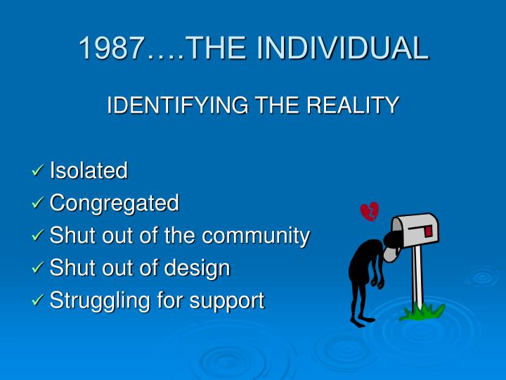 1987….THE INDIVIDUAL