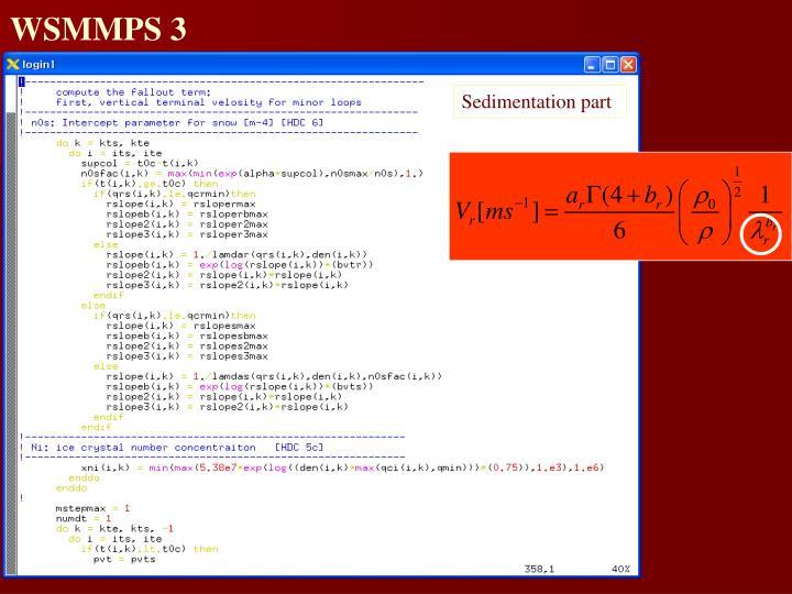 WSMMPS 3