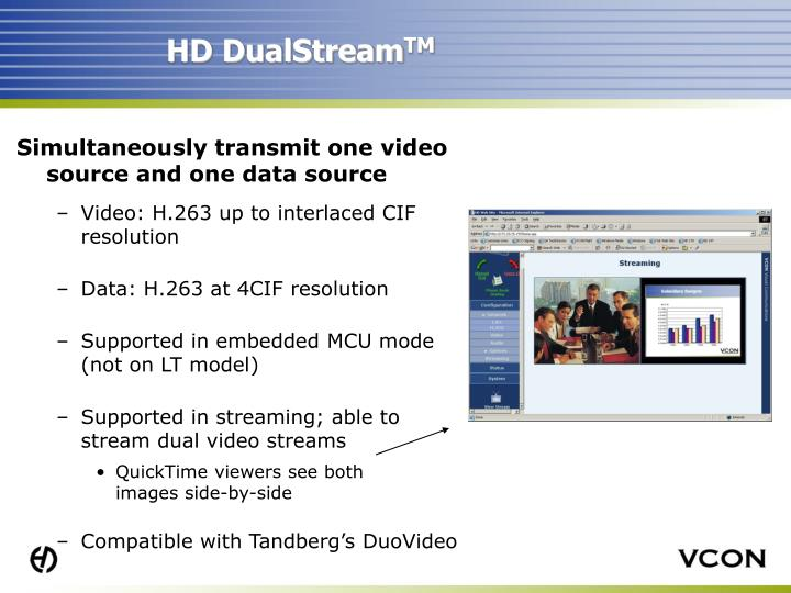 HD DualStream