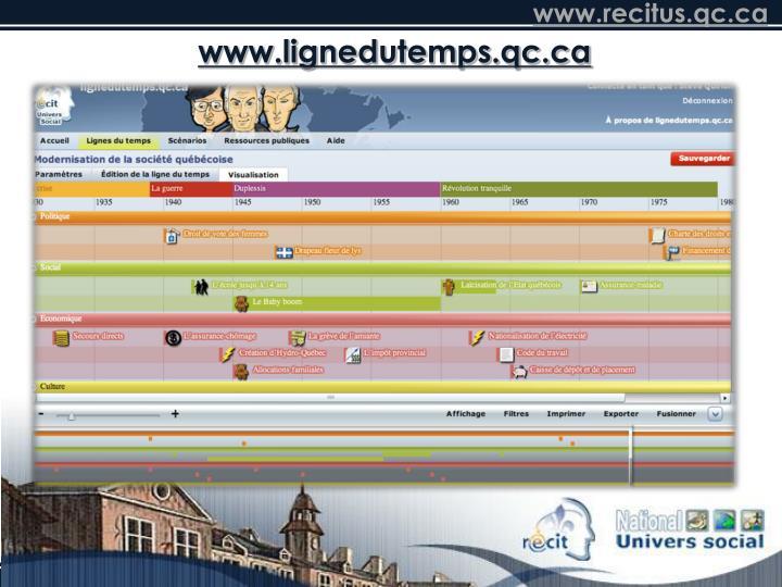 www.lignedutemps.qc.ca