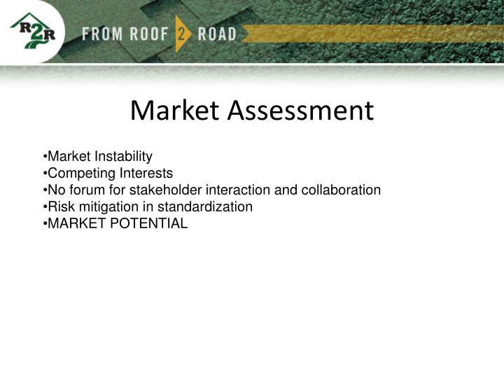 Market Assessment