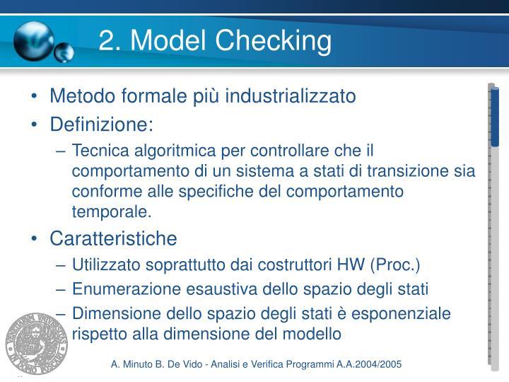2. Model Checking