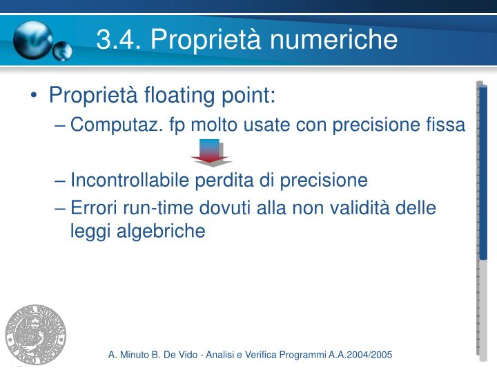 3.4. Proprietà numeriche