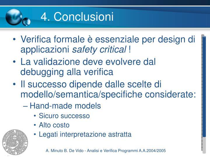 4. Conclusioni