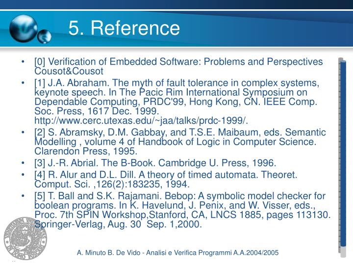 5. Reference