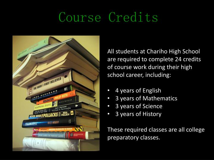 Course Credits