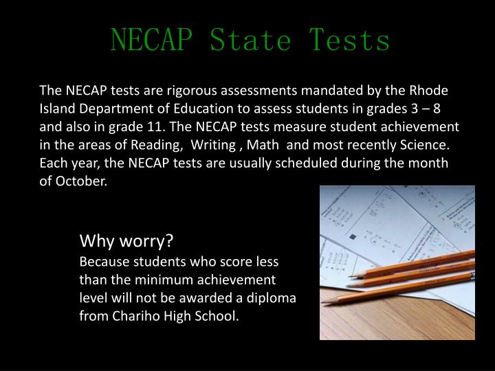 NECAP State Tests