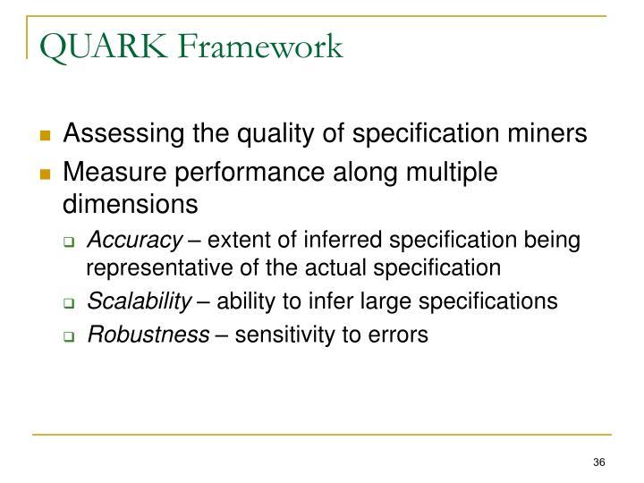QUARK Framework