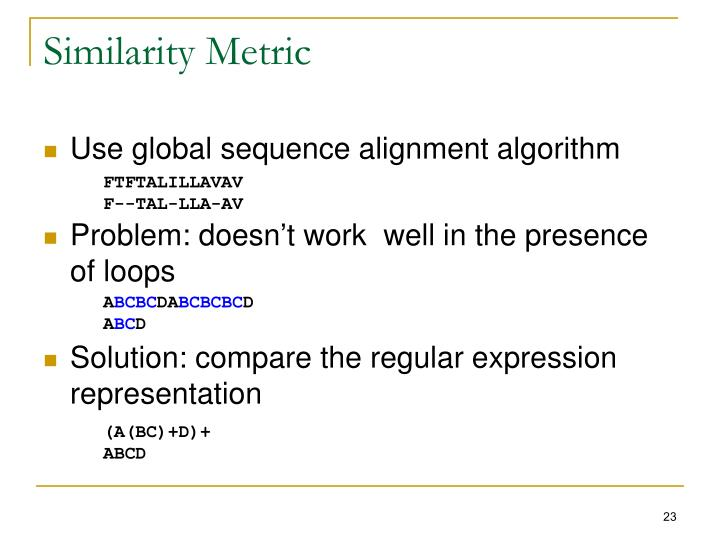 Similarity Metric