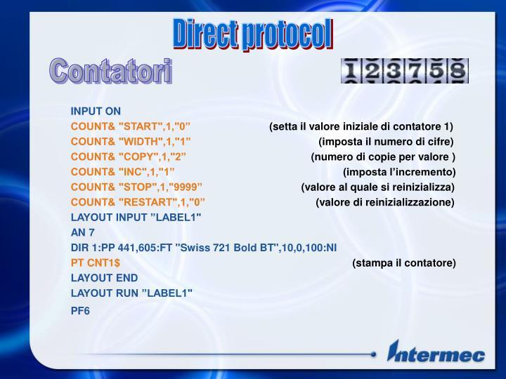 Direct protocol