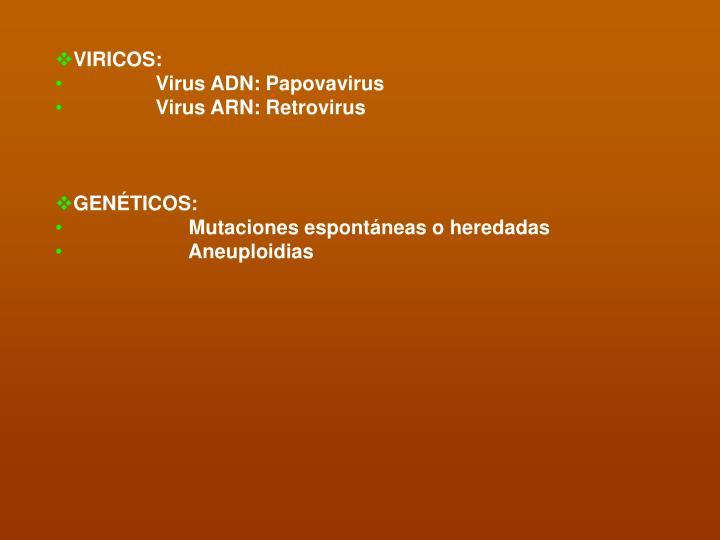 VIRICOS: