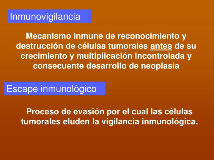 Inmunovigilancia