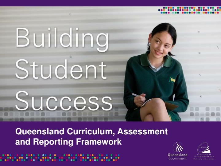 Queensland Curriculum, Assessment