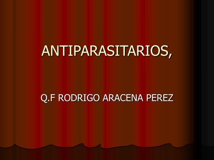 ANTIPARASITARIOS,