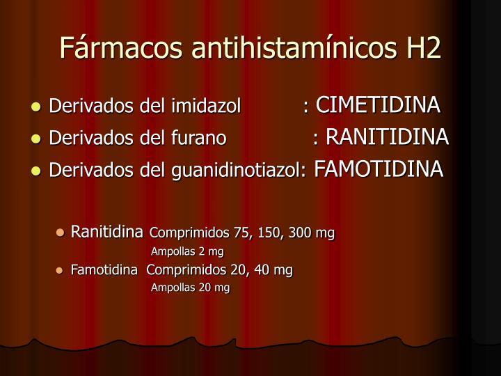 Fármacos antihistamínicos H2