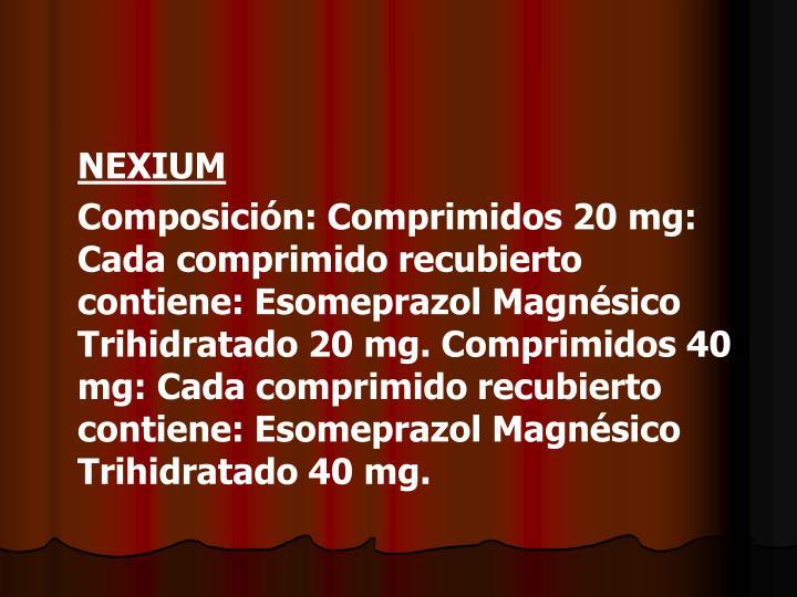NEXIUM