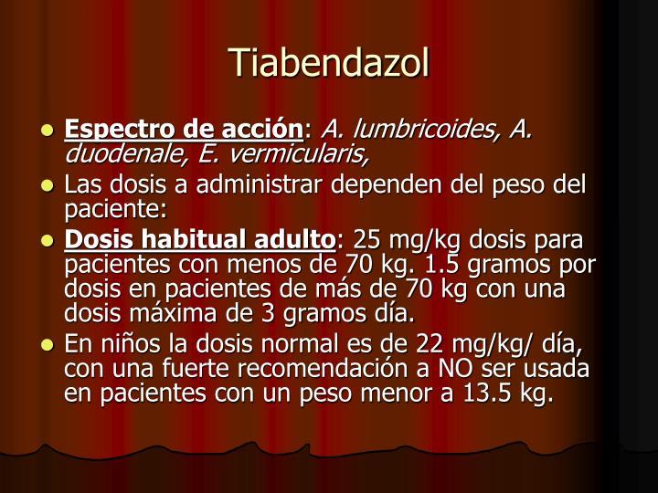 Tiabendazol