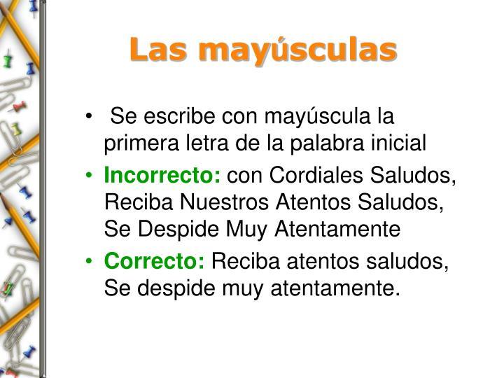 Las may