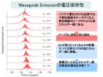 waveguide emission