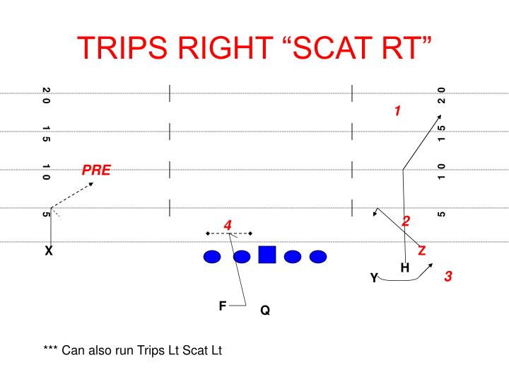 "TRIPS RIGHT ""SCAT RT"""