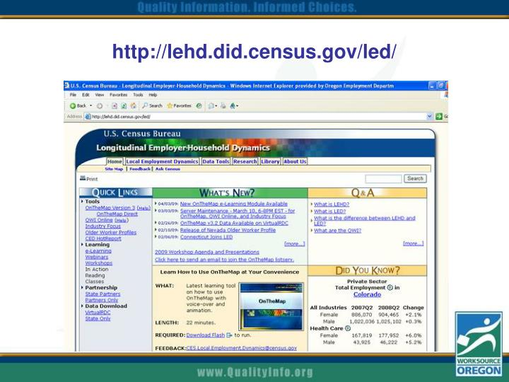 http://lehd.did.census.gov/led/