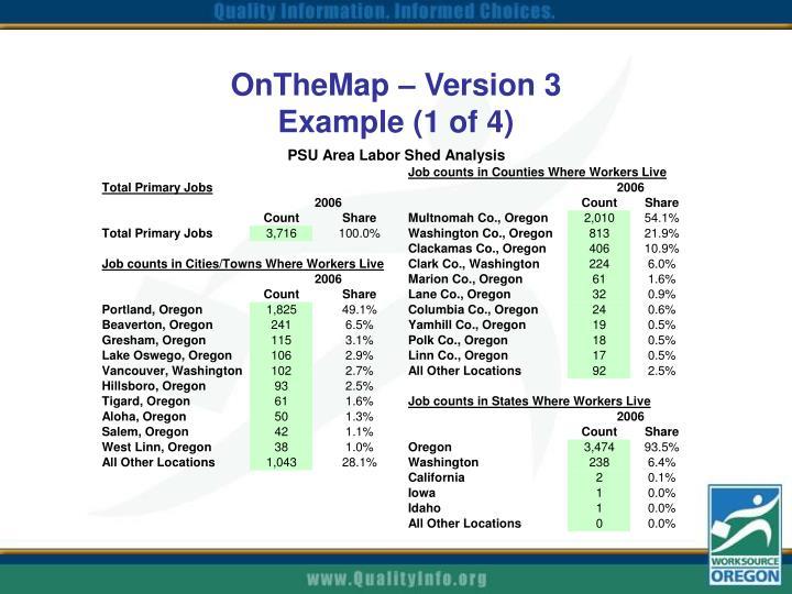 OnTheMap – Version 3